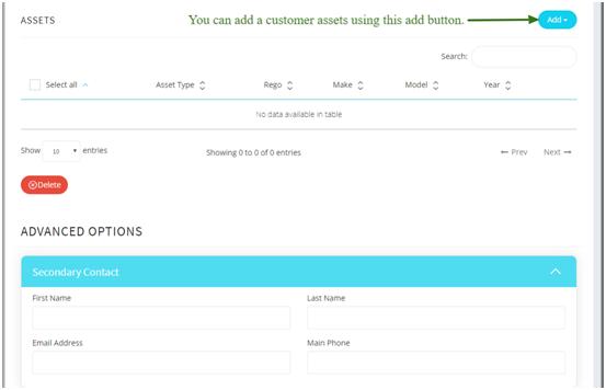 Customer Information & Asset Management 5iQ Module