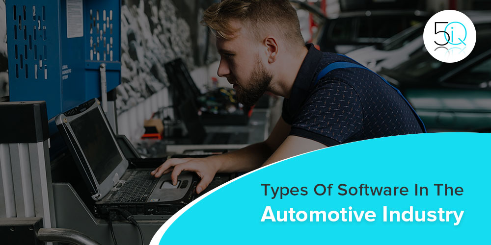 types of software in automotive and automobile industries