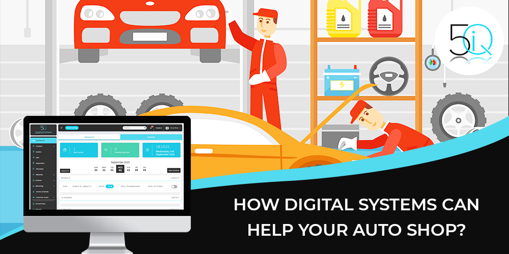 digital auto system benefits