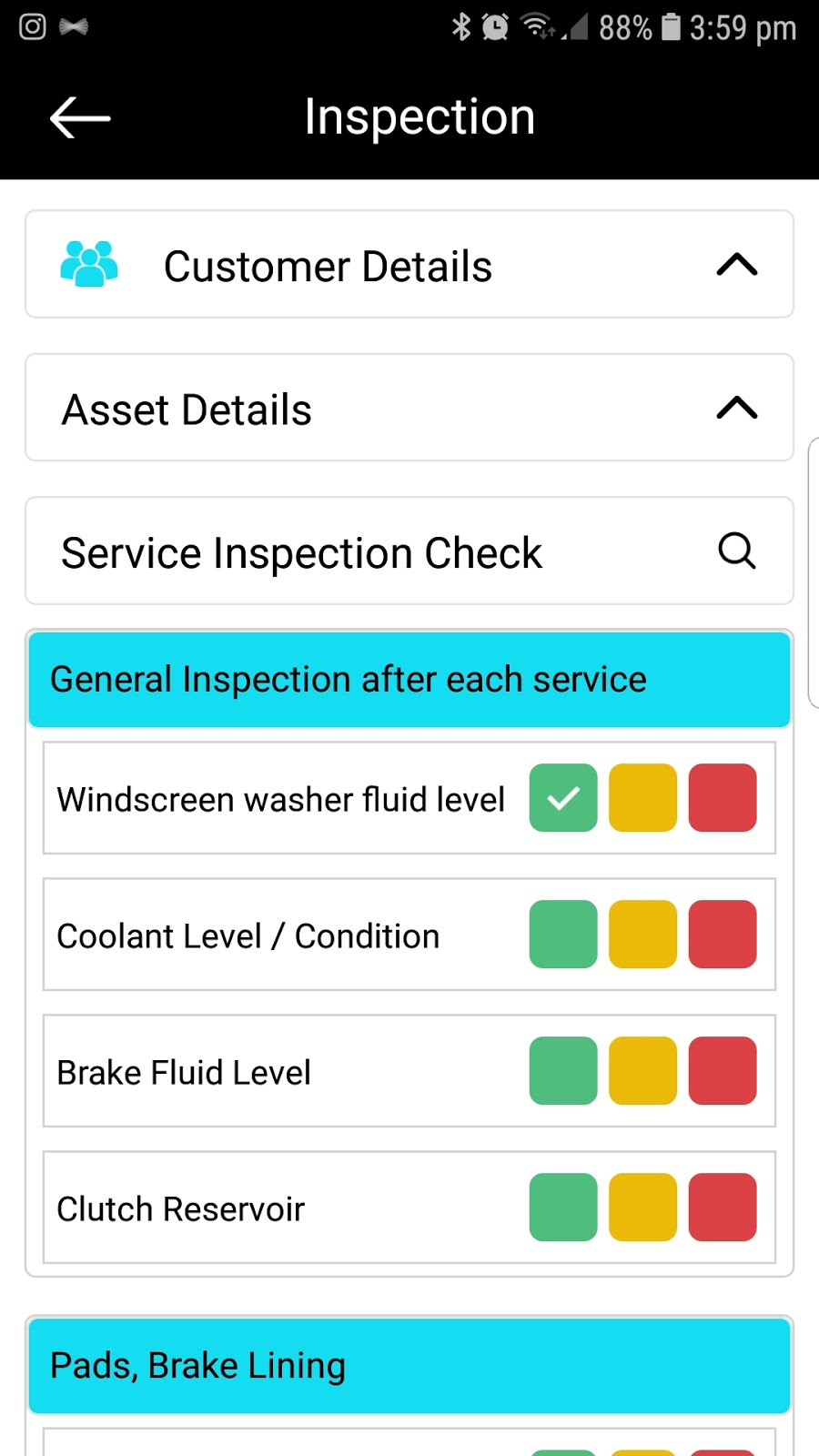 How to use 5iQ digital inspection feature